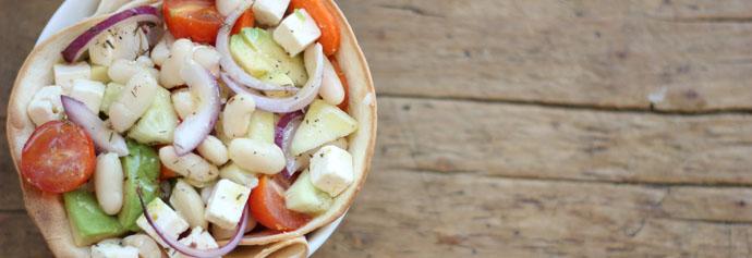 aperitivo aove ensalada judias blancas aguacate 1